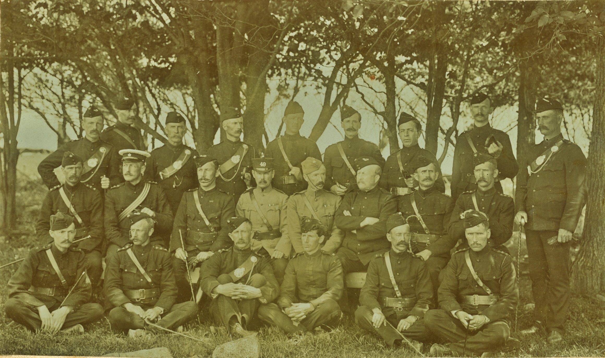 Charles Archibald Bleecker, 1st row 2nd from right