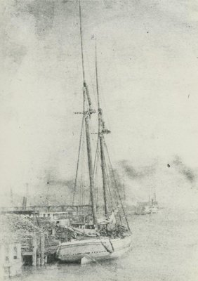 The schooner Henrietta P. Murray  Built 1867 in Oakville, Ontario                                                                From the Collection of:C. Patrick Labadie