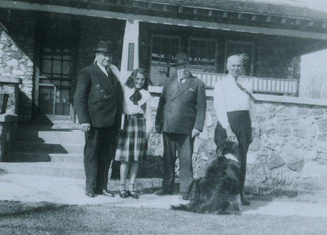 Aungers, Harry, George, Pat, & William
