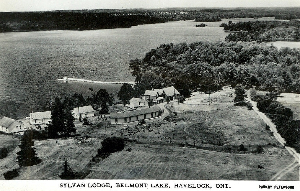 The Young homestead, near Rockdale. This later became the location for Sylvan Lodge.