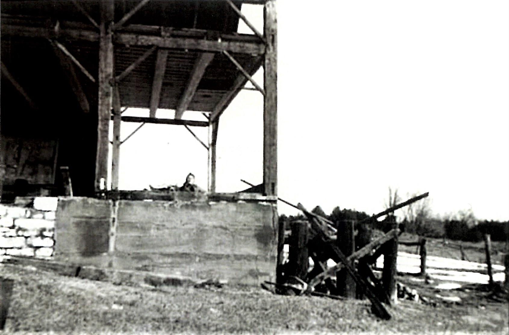 Cook cheese factory demolition c.1945