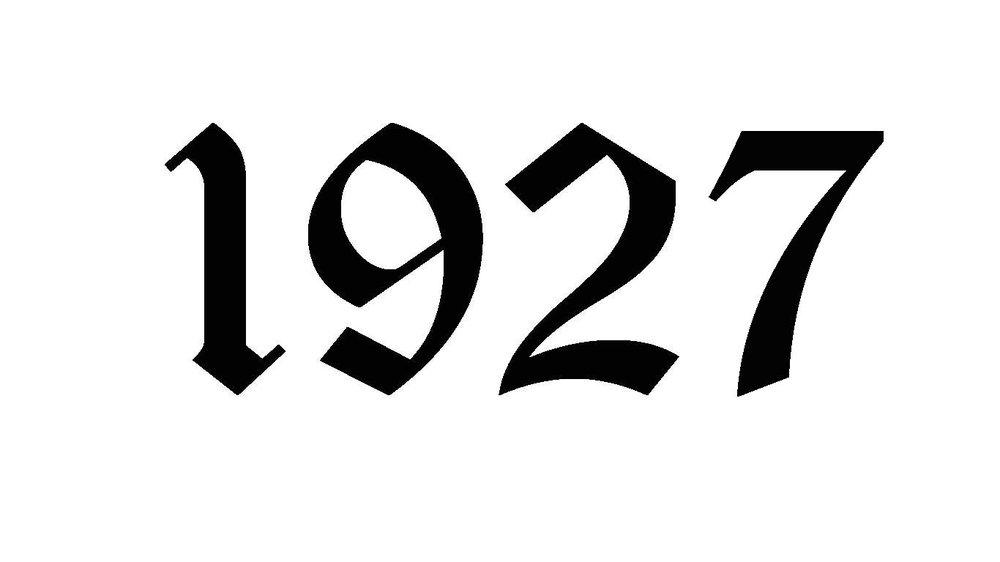 1927 — MarmoraHistory.ca