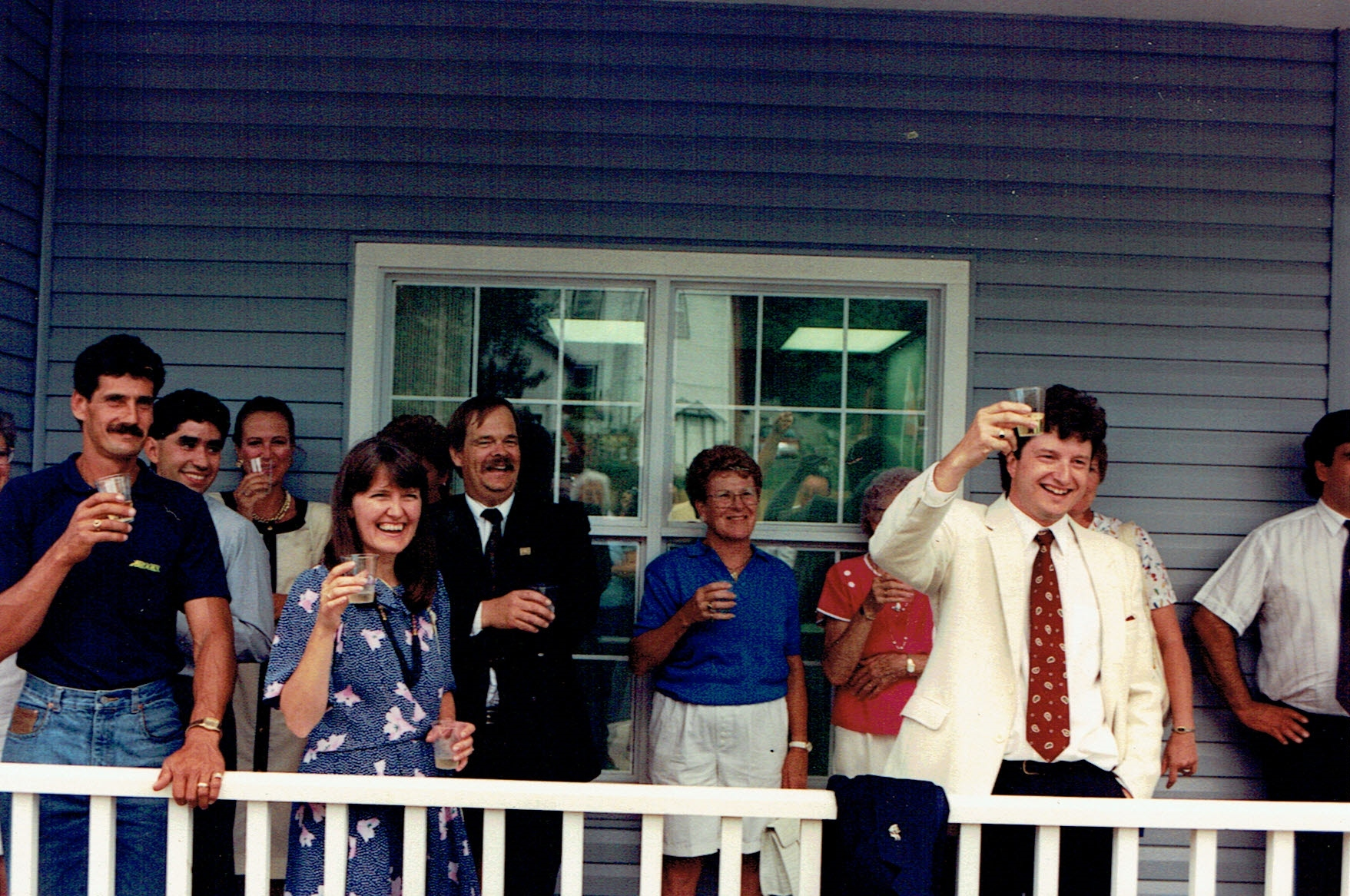 Dr. Steven Dawson at his grand opening