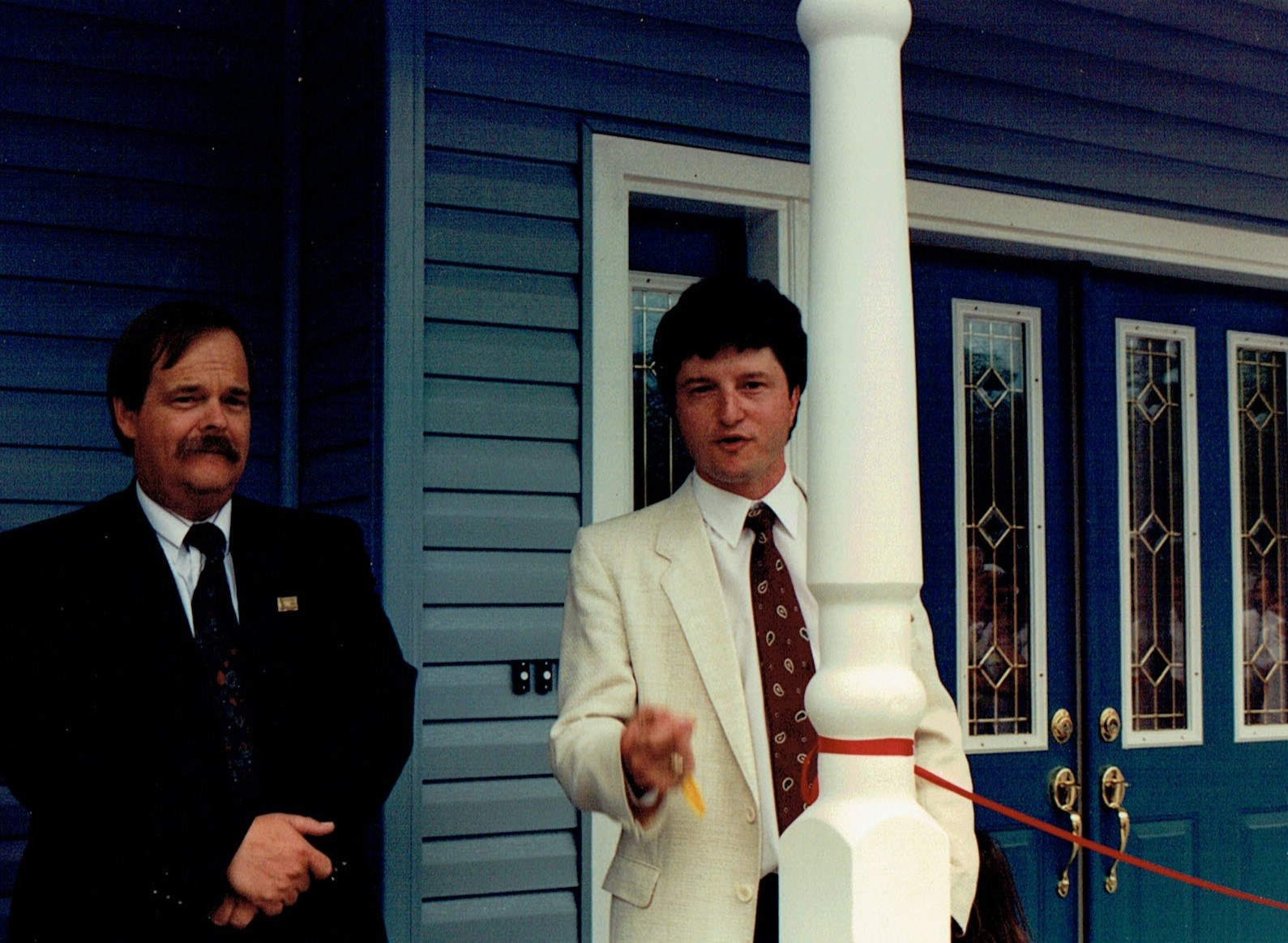 Reeve Andre Philpot and Dr. Steve Dawson