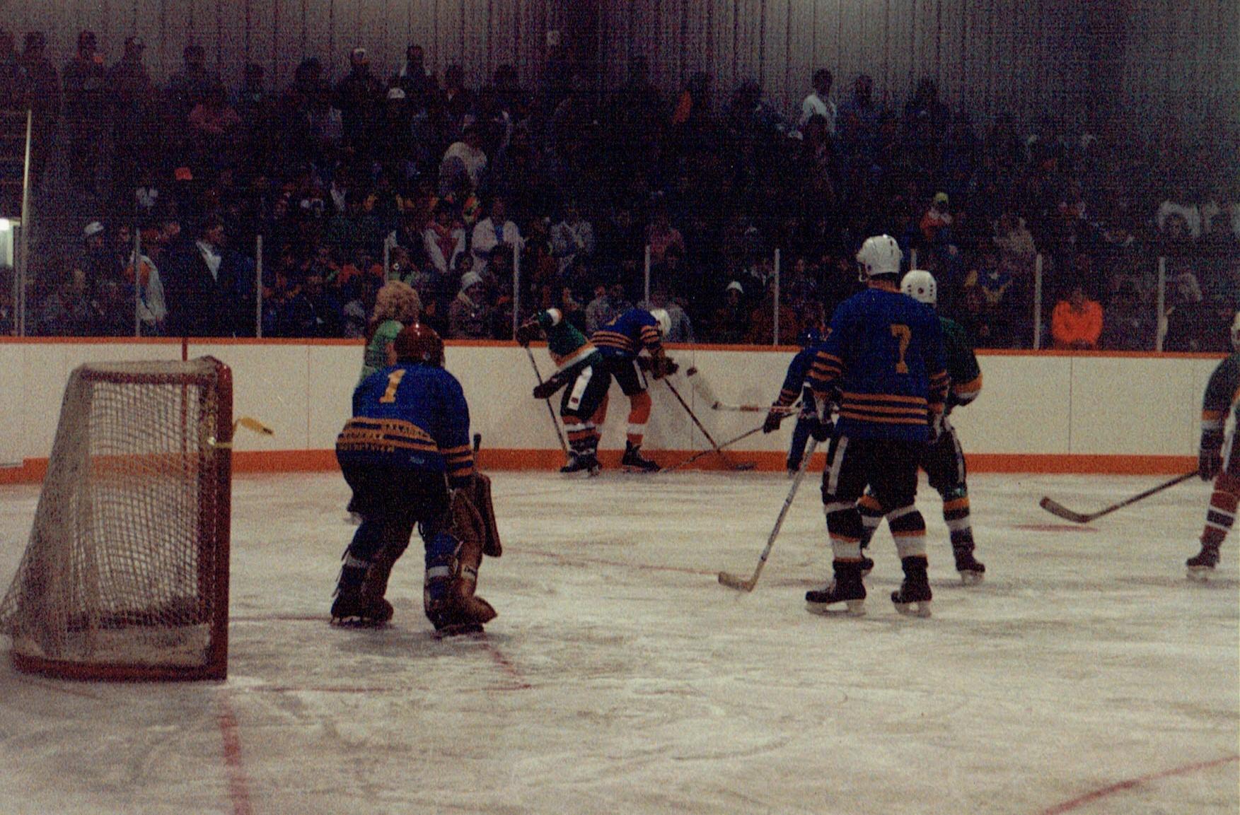 1991 Arena Opening Councillors vs OPP (1).jpg