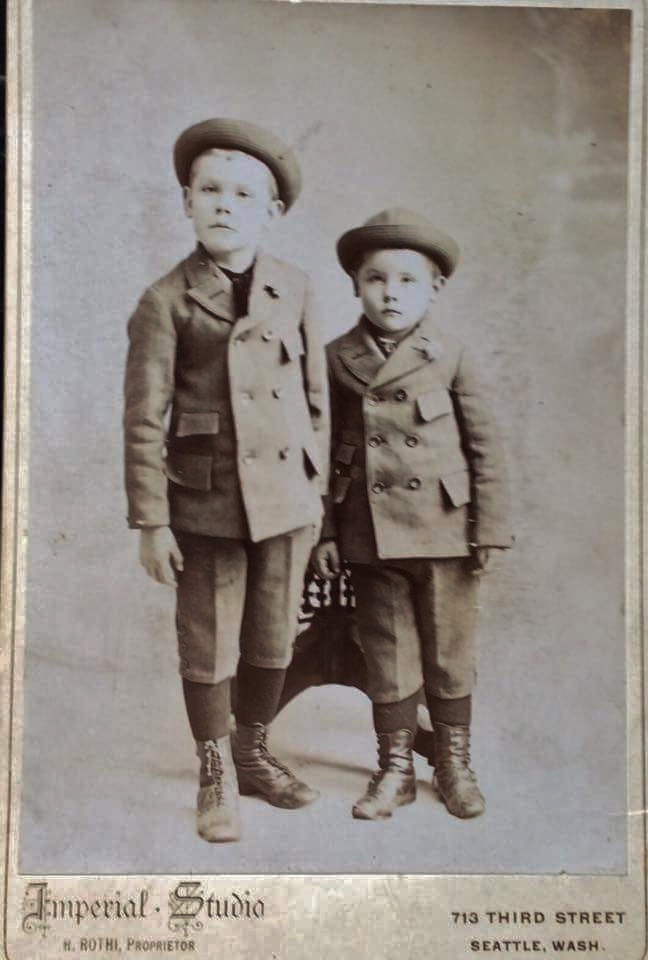 Joseph Eugene Shannon 1889-1961 and brother Donald James Shannon 1891-1935 - sons of Patrick Crawford Shannon and mary Ellen Dempsey