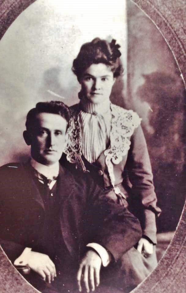 Daniel Shannon 1870 Marmora-1959 Kingston and Sarah Mae Donahue (1878 Teeswater-1963 Kingston. Daniel was the son of DanieI Shannon (1825 Ireland-1895 Marmora and Margaret Crawford (1829Marmora-1890Marmora)