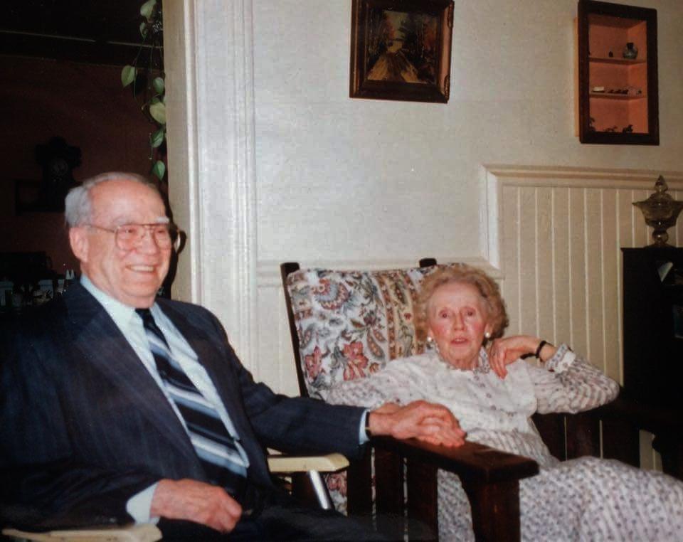 James Laughlin Shannon and Ida Mae Mulligan