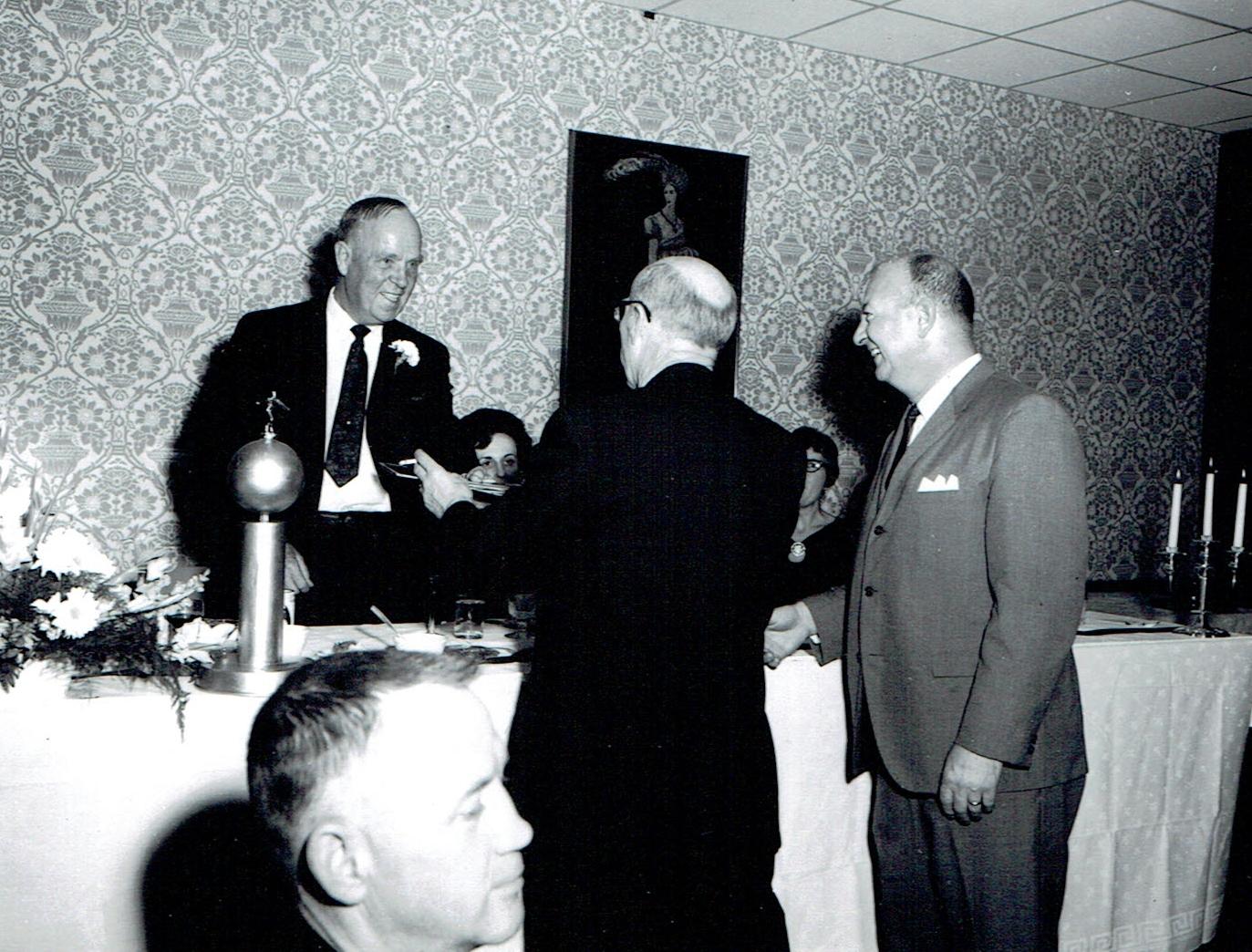 1968 Marmora Mine Retirement of Lorenson, w. Fraser & Hanley