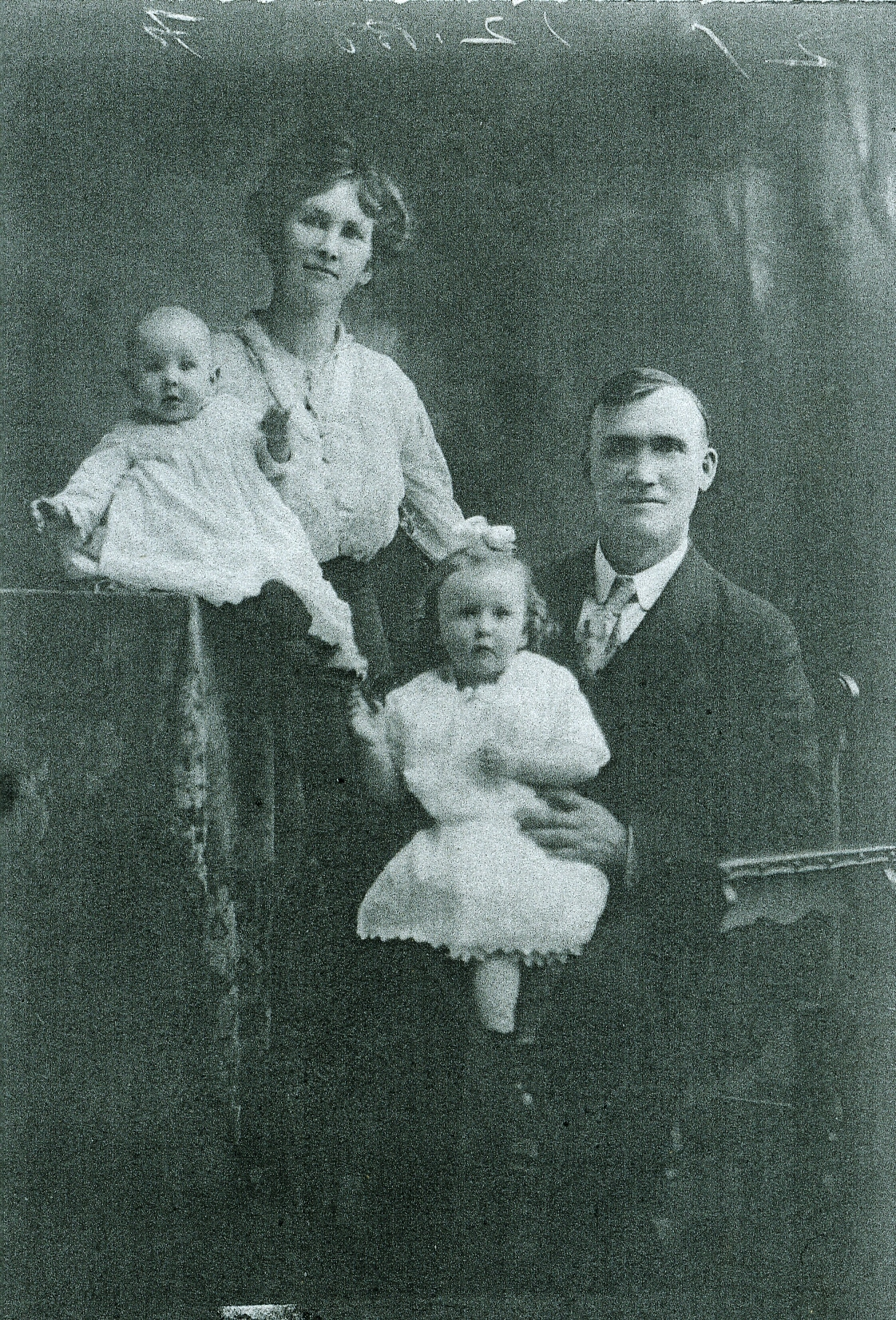 Ed O'Connor and family