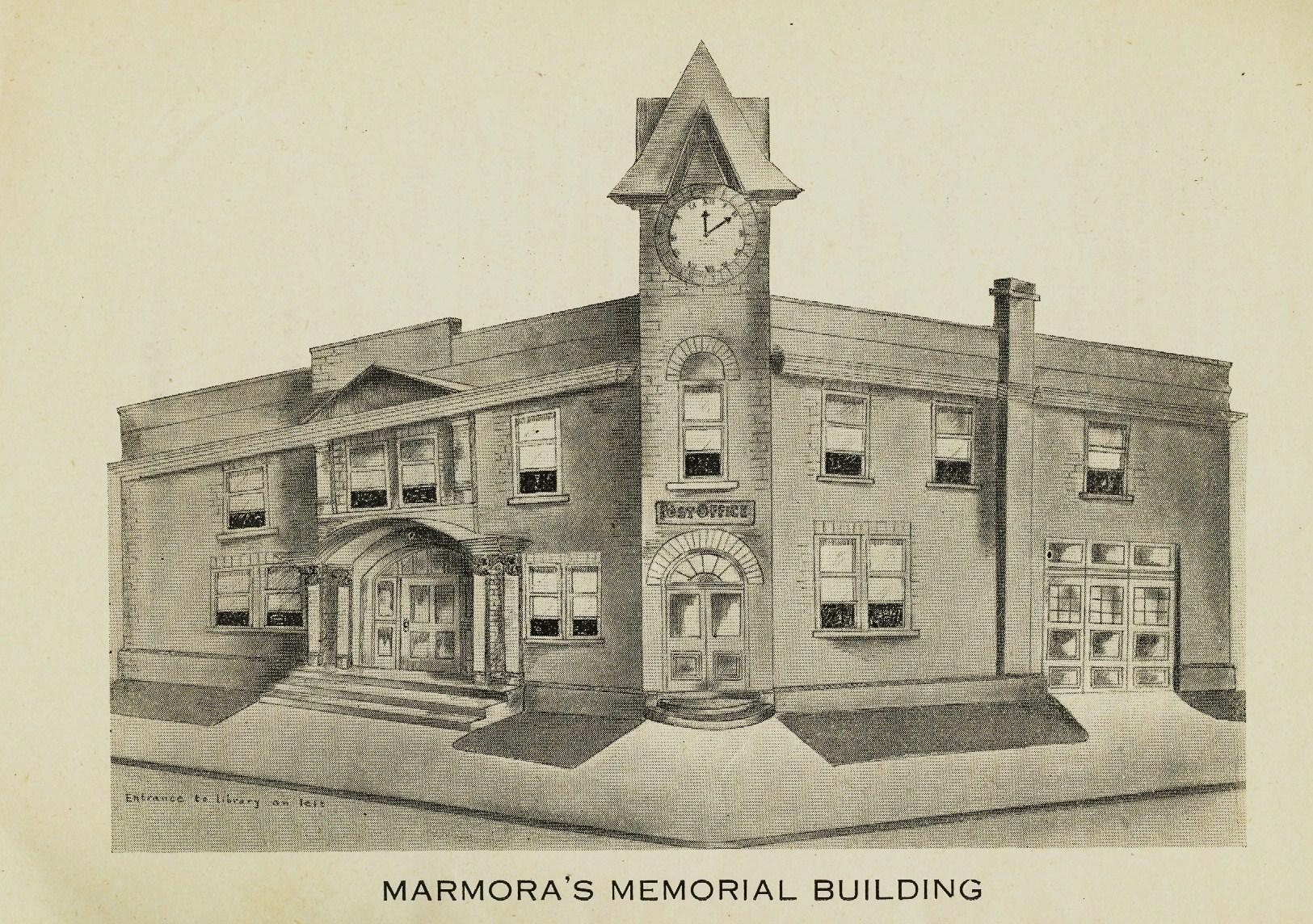 Marmora Business,  Library,  War memorial building.jpg