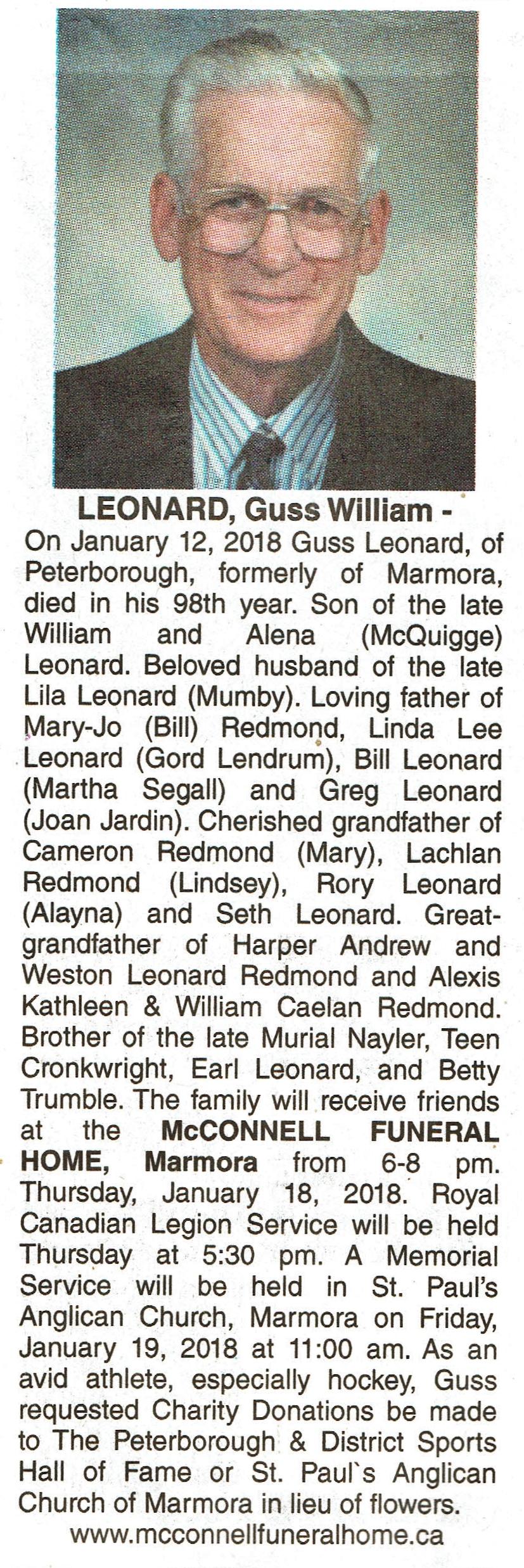 Leonard, Gus Obituary.jpg