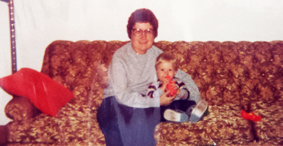 Anne (Collins) Terrion and nephew Josh Loveless.jpg