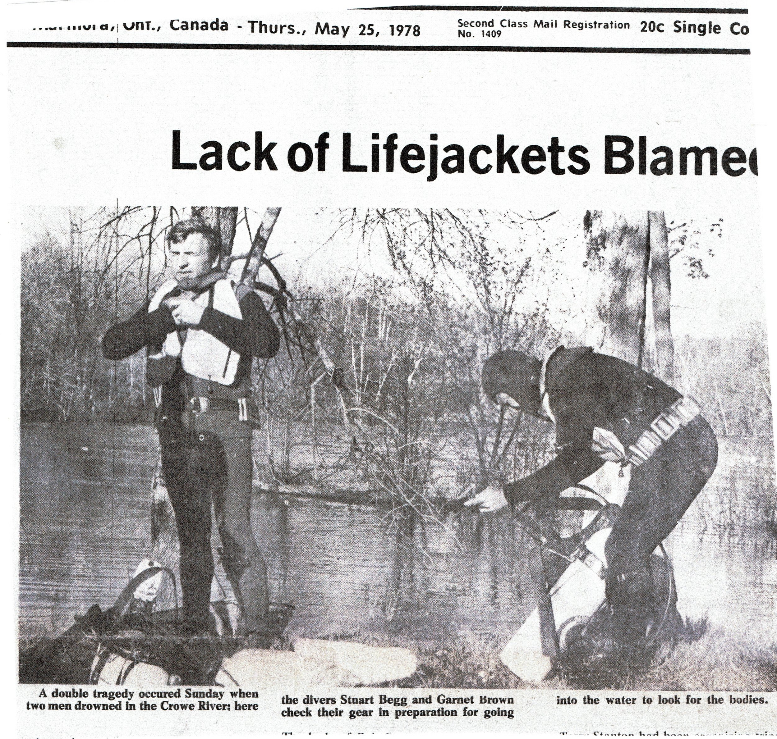 1978 Drowning on Crowe River photo.jpg