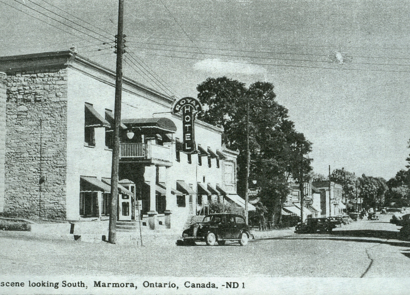Forsyth St. looking south, Marmora Hotel.jpg
