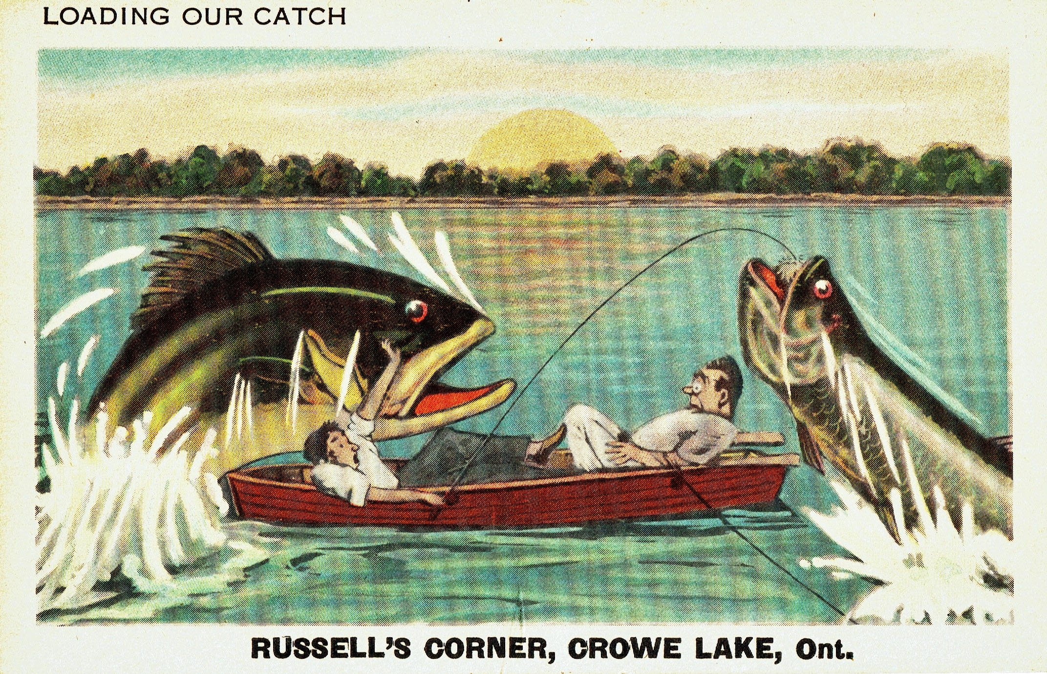 Post card RUSSELL'S CORNERS,  CROWE LAKE.jpg