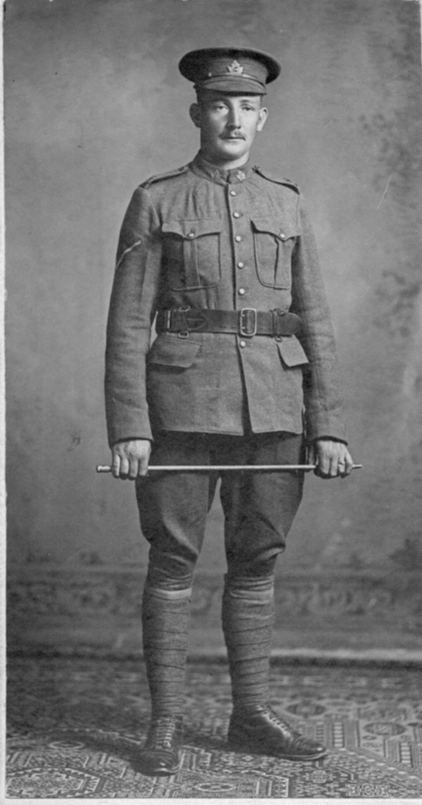 Ernest Garfield Runnalls joined the 155th Battalion in Marmora Ont. in Jan. of 1916 See http://21stbattalion.ca/tributeos/runnalls_eg.html