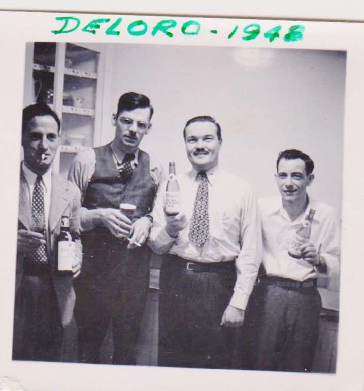 Deloro 1948 unkown, Joe Gilhooley, Bruce MacKenzie Maurice Barlow.jpg