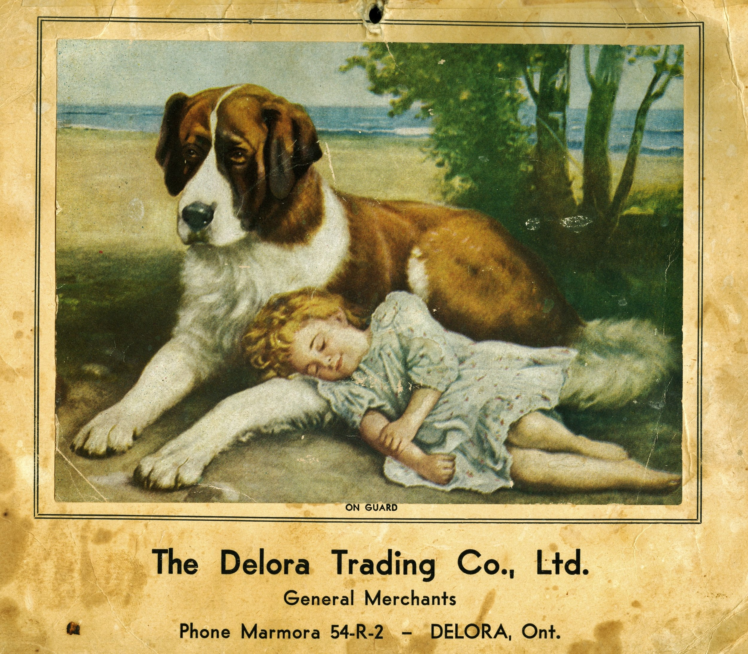 1952 Deloro Trading Co. Calender.jpg