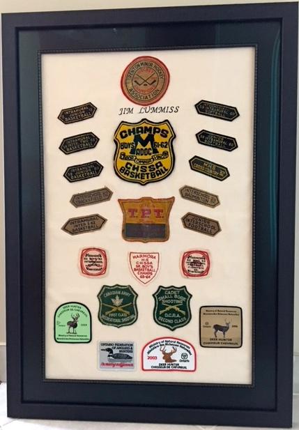 Award collection of Jim Lummiss