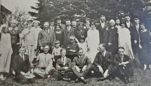 Wedding of Veronica O'Connor and George Forestell