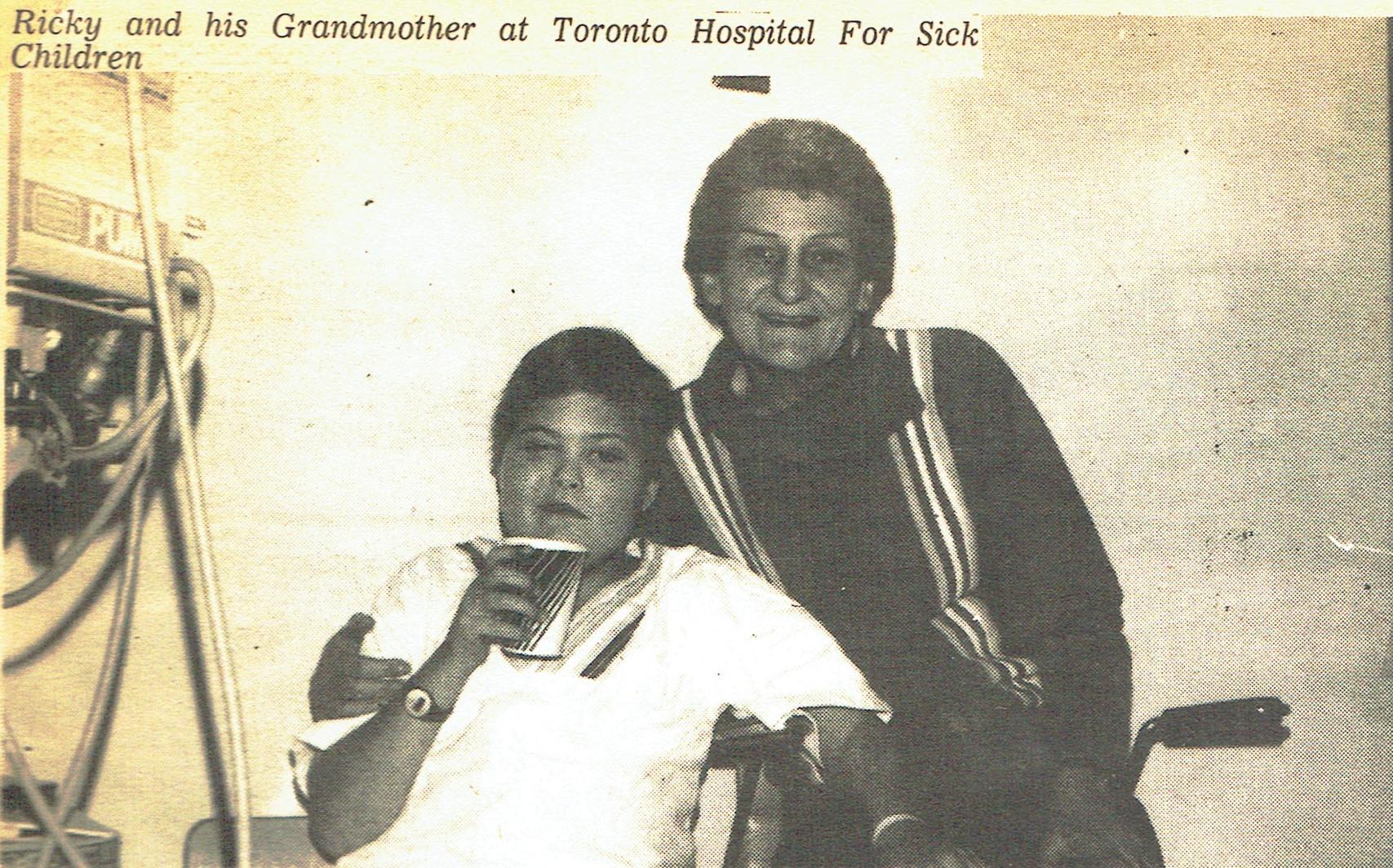 Ricky MacGillvary and grandmother Mrs. Henry.jpg