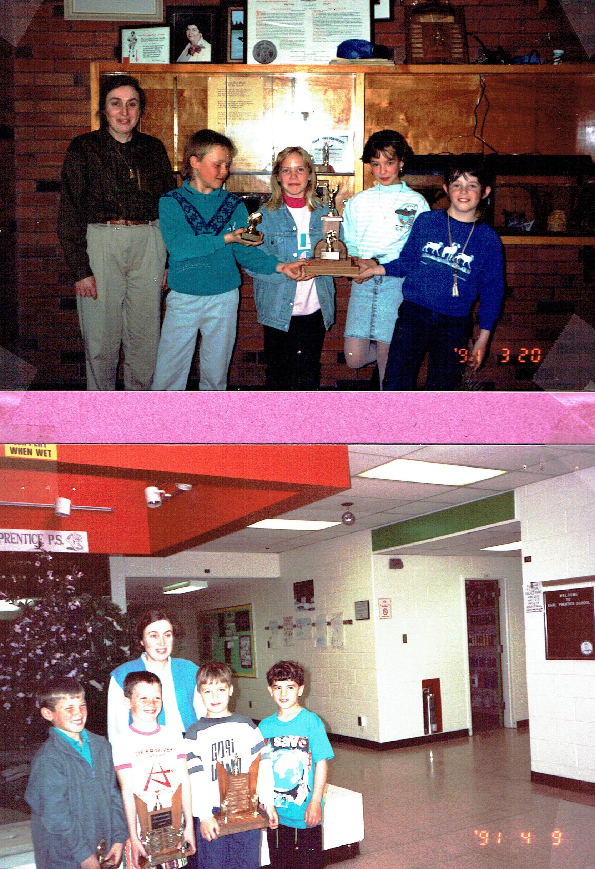 Earl Prenitce Chess Club, 1991