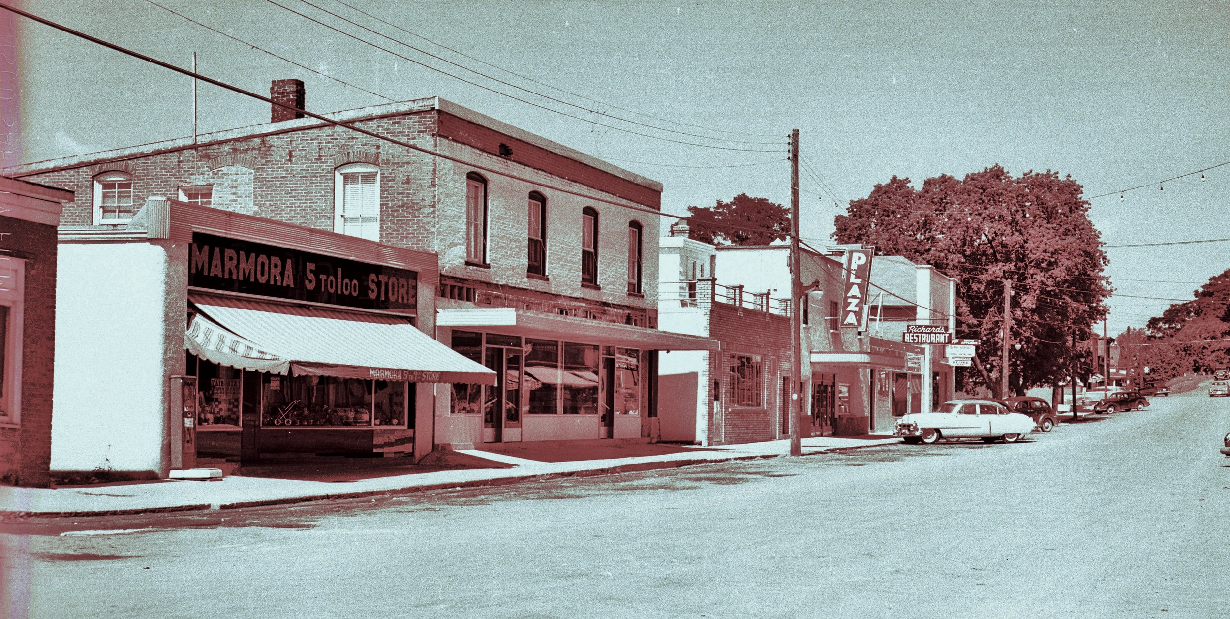 Forsyth Street,  Business Section,  west side,  looking north, Marmora.jpg