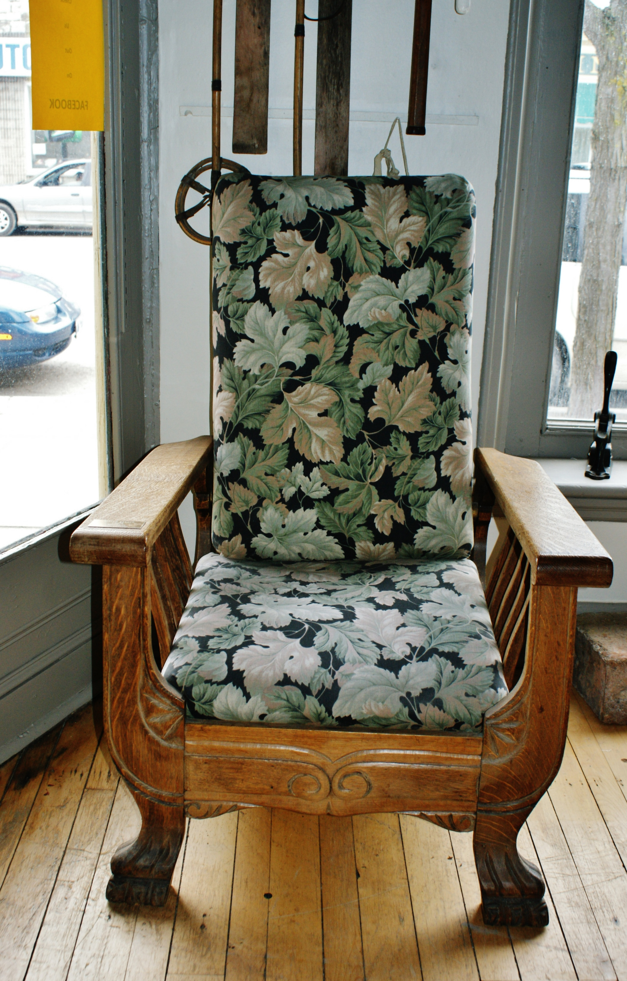 Miriam Savage's famous chair