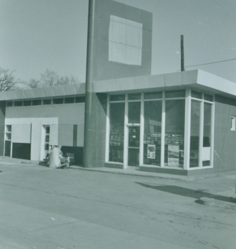 New building that later was converted to Bowes & Cocks Realty. This was again torn down and replaced by Mac's convenience store