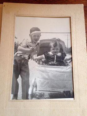 Wayne Woods and his sister Brenda Woods Killingbeck