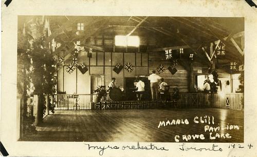 Marble Cliff  (Point) pavillion 1924 Myers orchestra.jpg