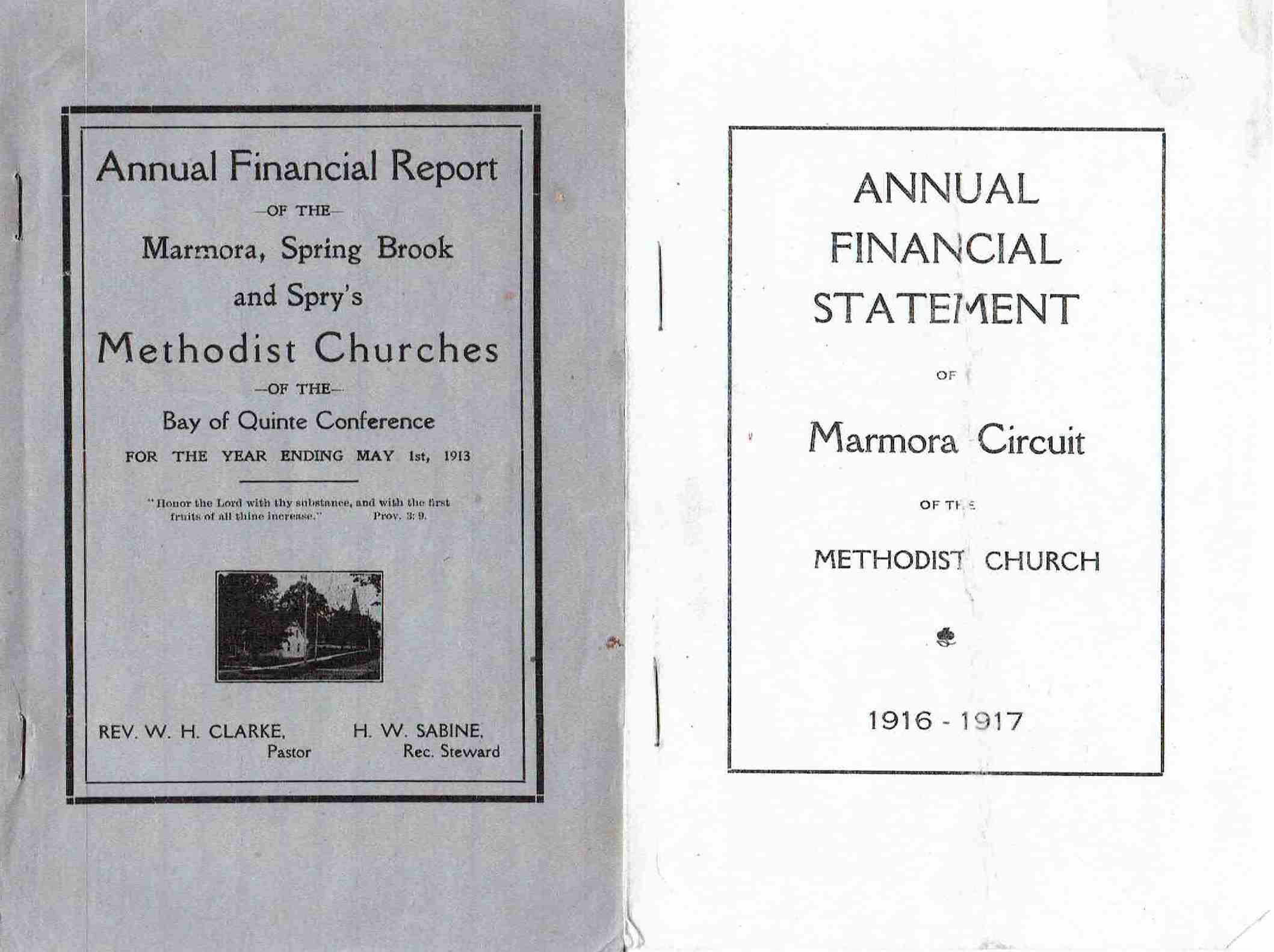 1913 & 1916 Methodist church financials.JPG