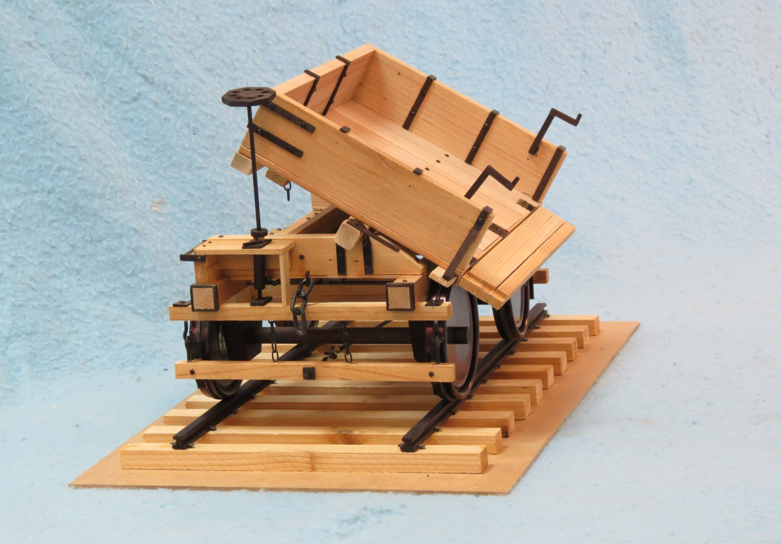 Model of Blairton Ore Car by George Parker.JPG