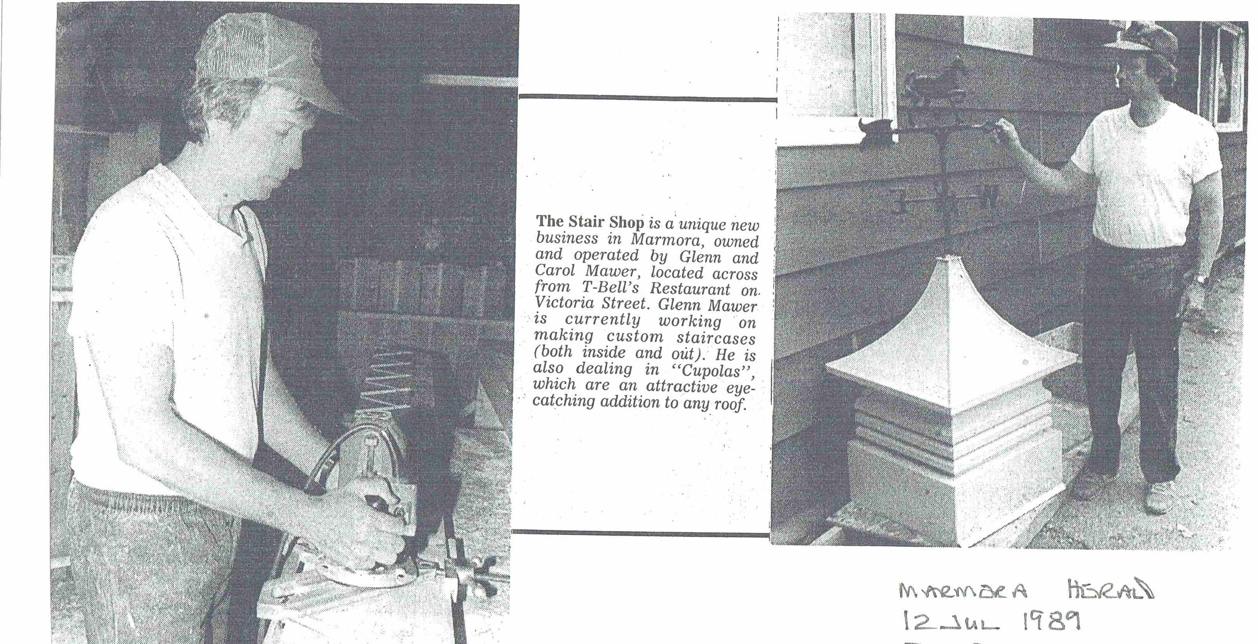 1989 The Stair Shop, Mawer .JPG