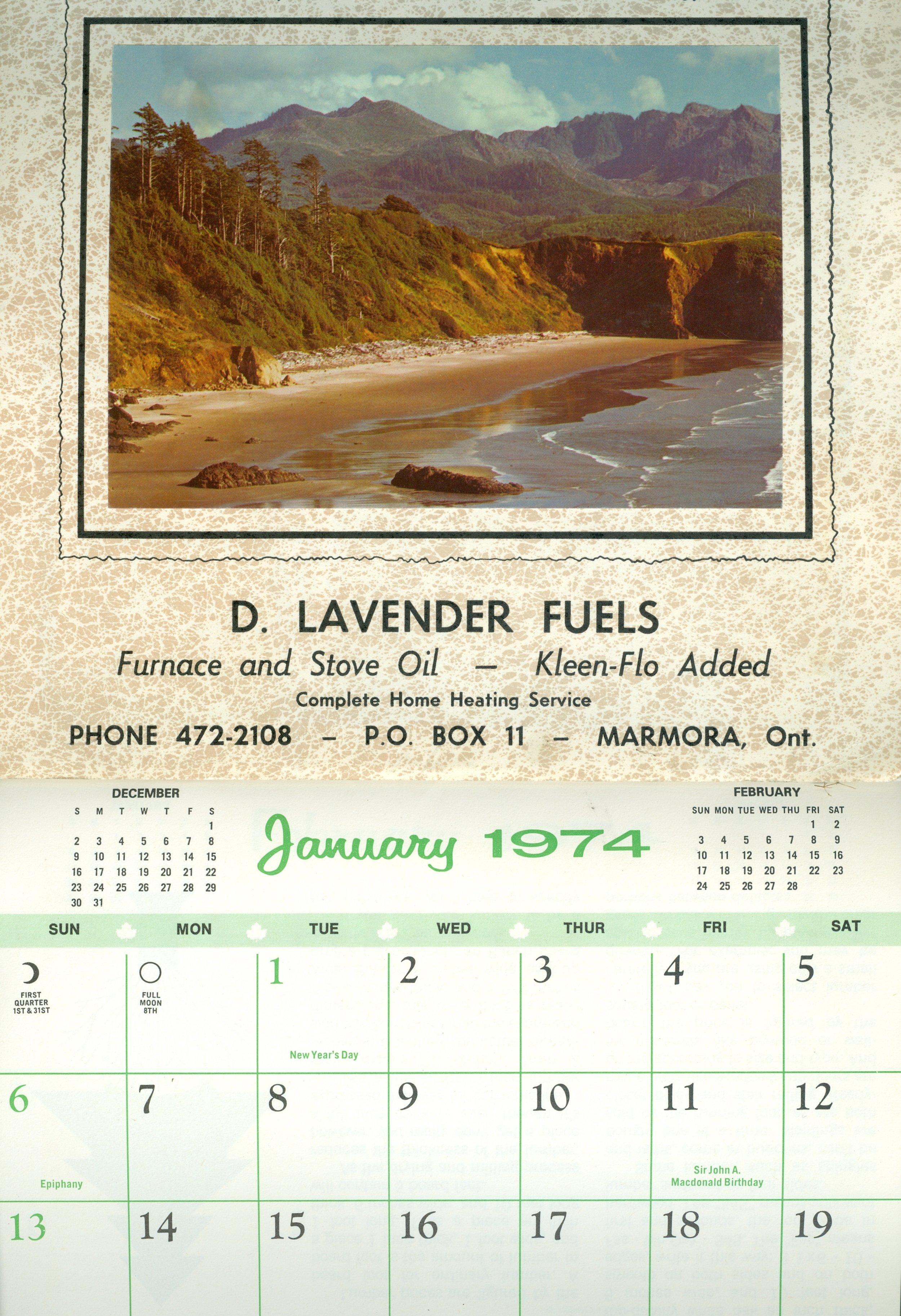 Marmora Business,  D. Lavender Fuels, 1974.jpg