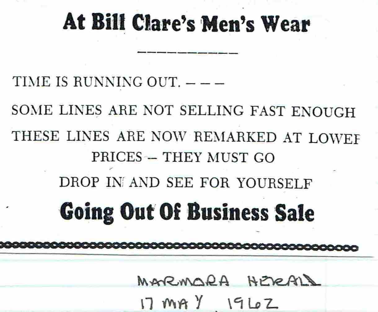 1962 Bill Clare Men's Wear.JPG