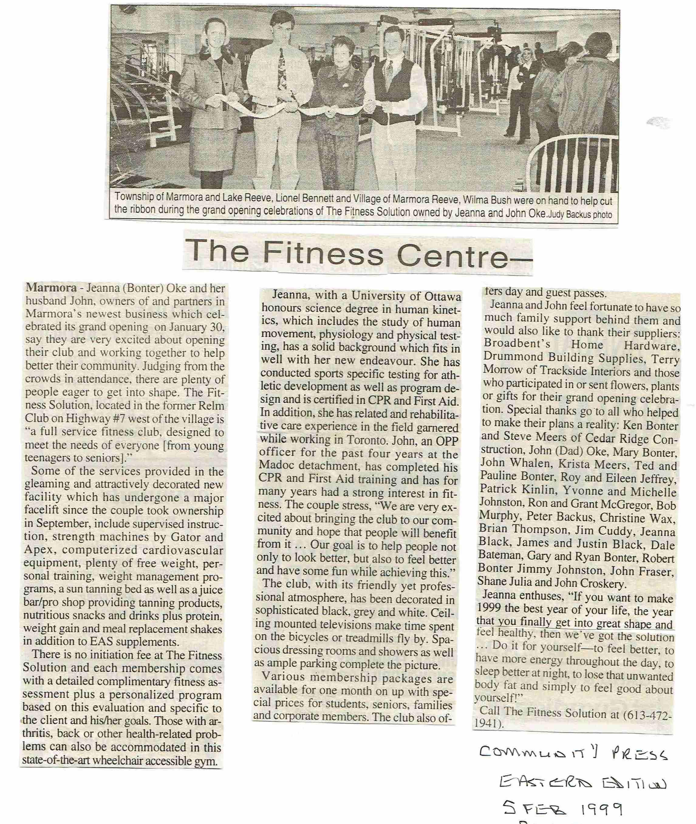 1999 Oke Fitness Centre Relm Club.JPG