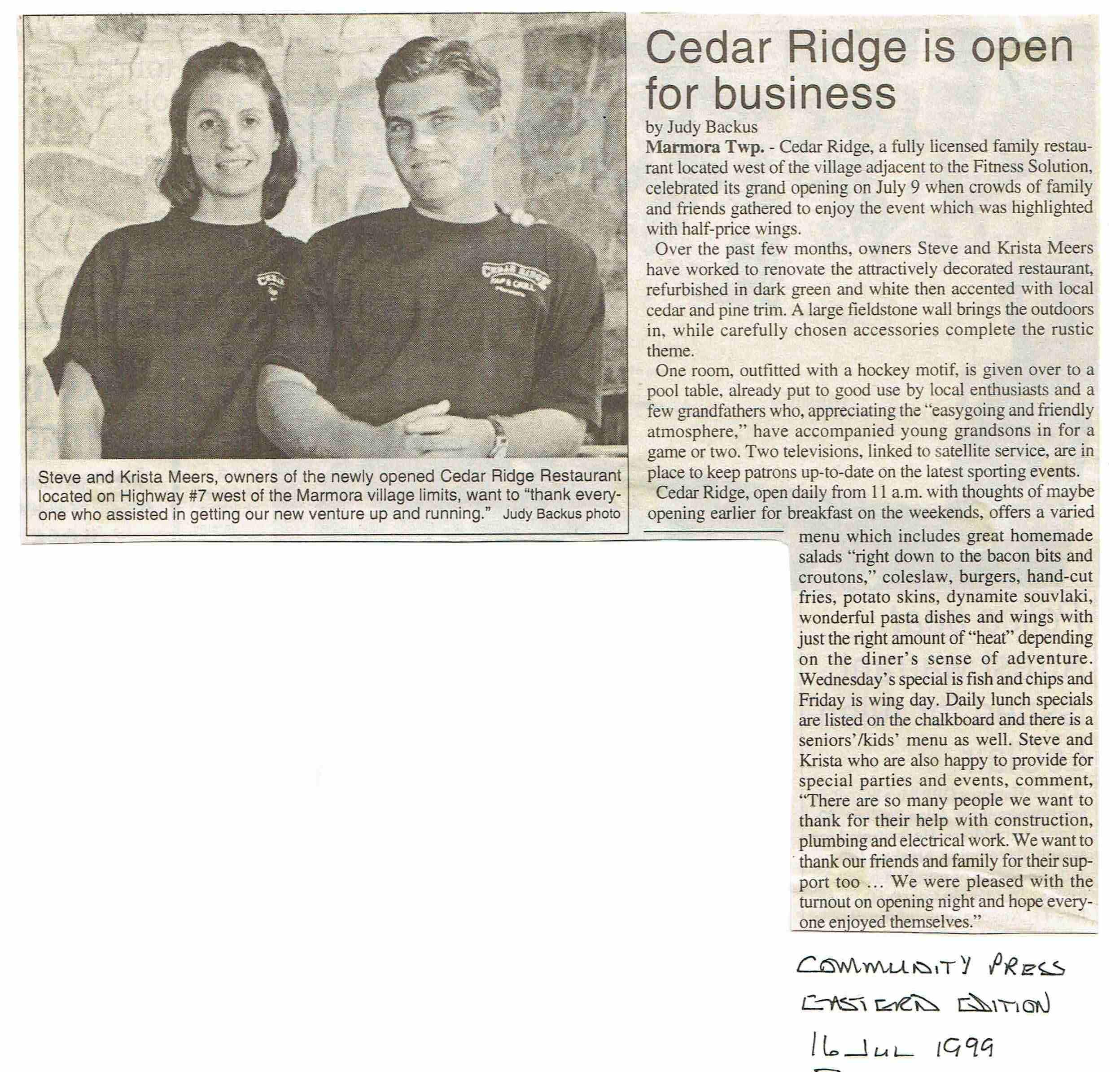 1999 Relm Club, Cedar Ridge, Meers.JPG