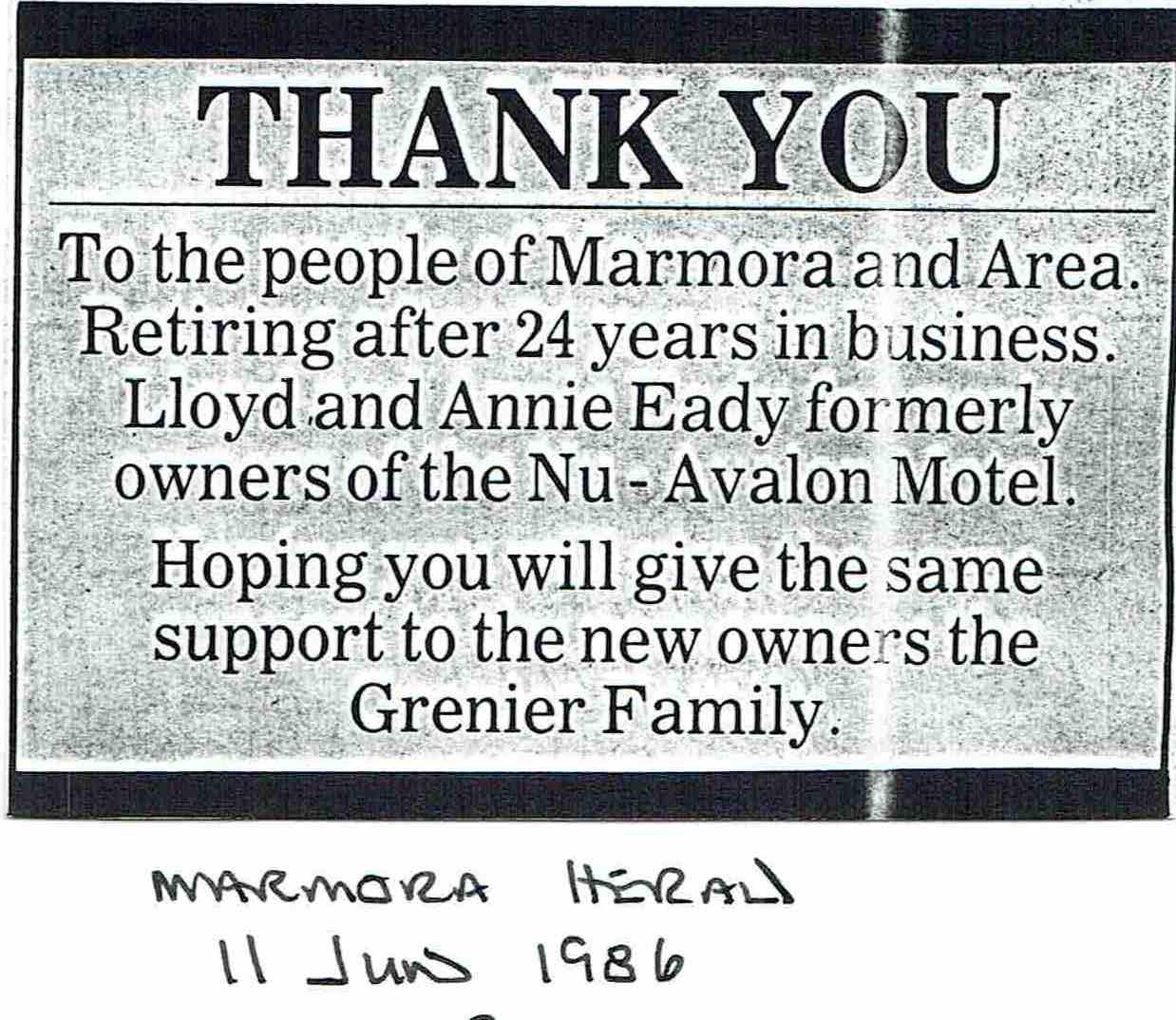 1988 Nu Avalon Motel,  Eady,  Grenier.JPG