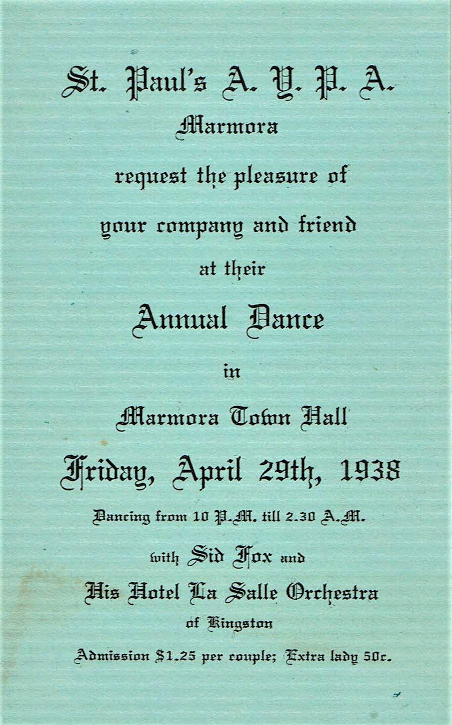 St. Paul's Dance 1938.jpg