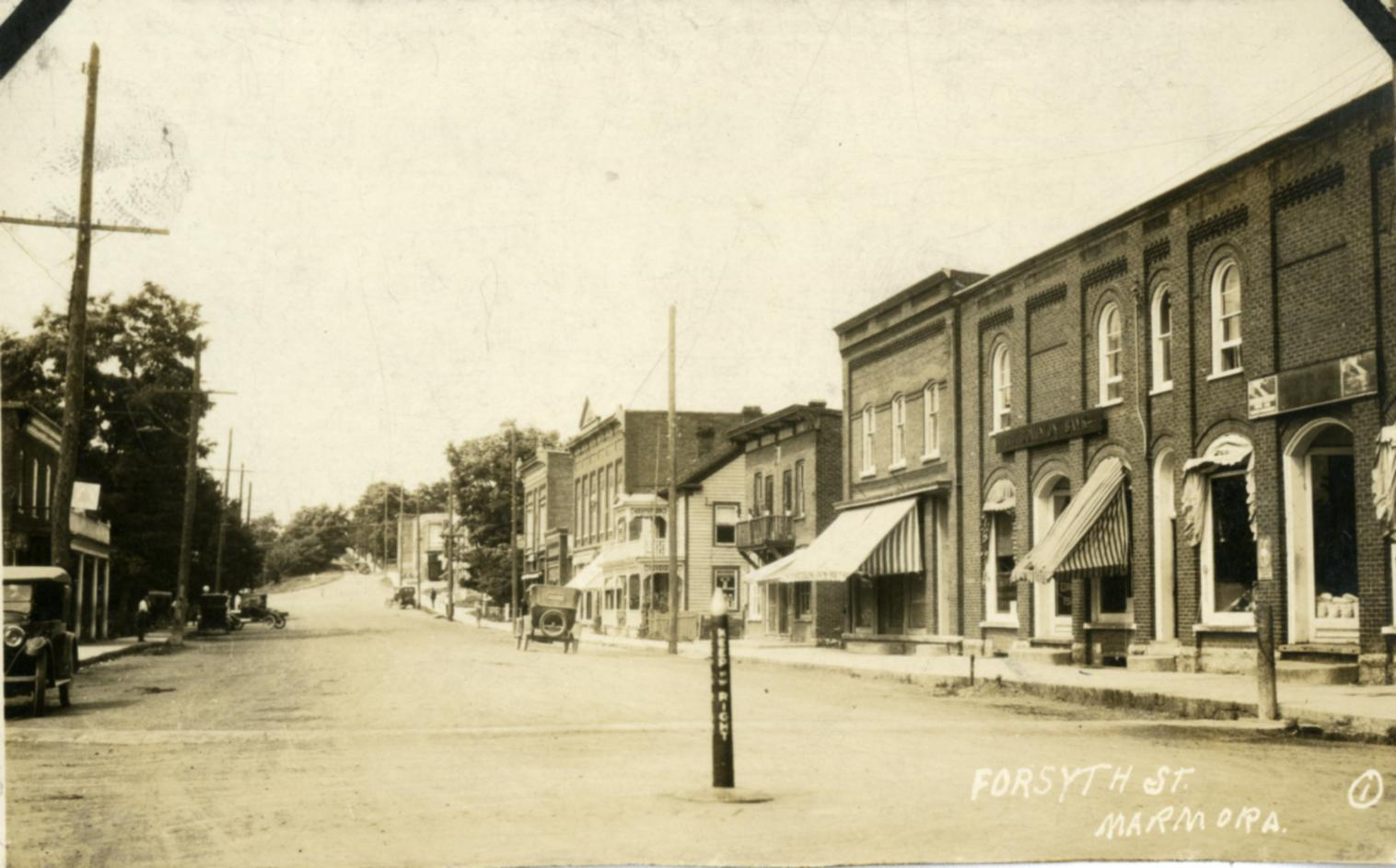 1907 Looking North