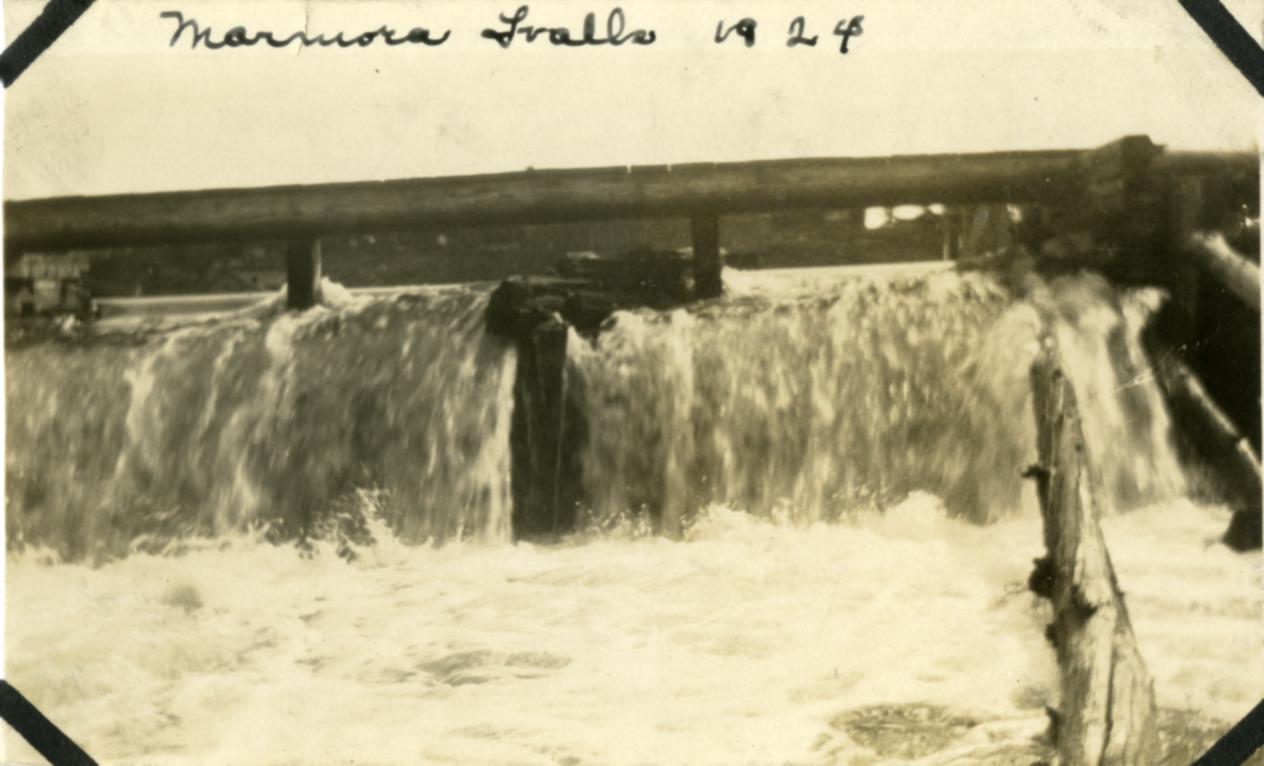 Marmora Falls,  1924.jpg