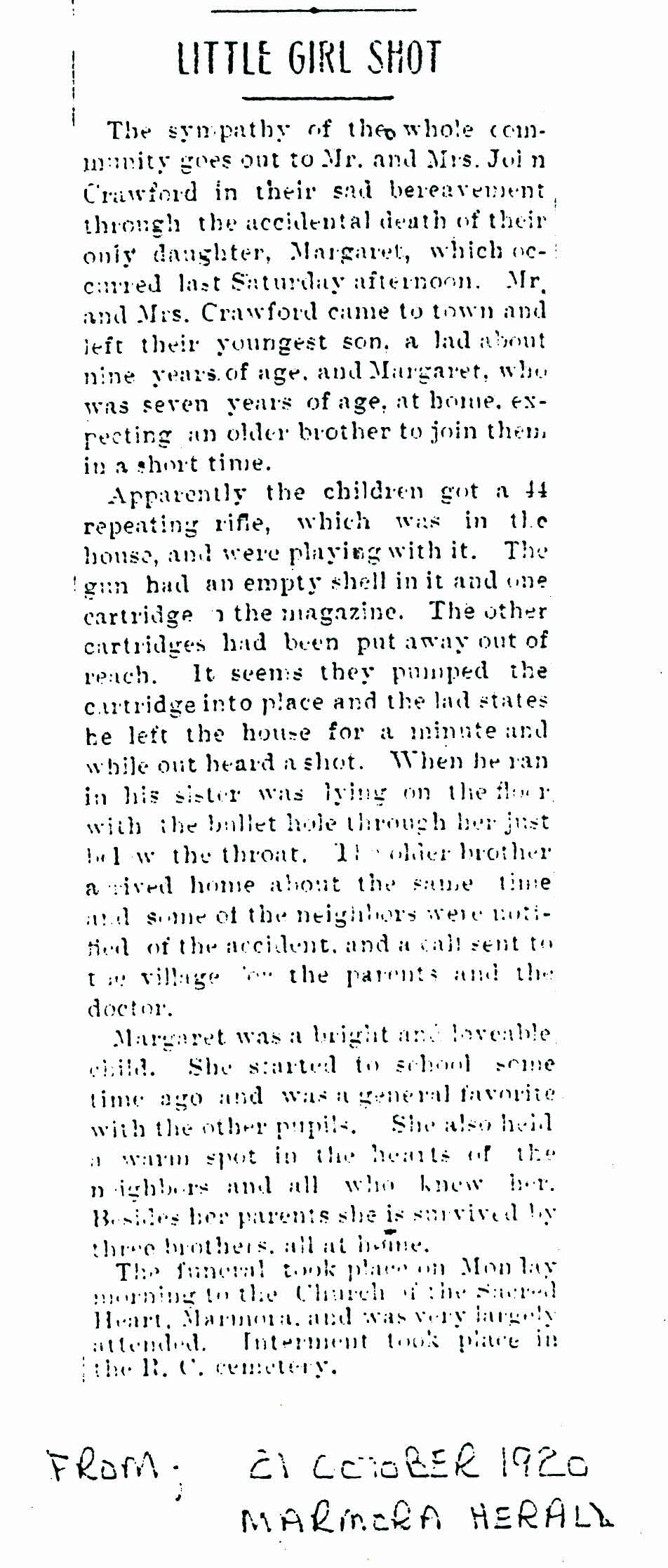 Crawford, Margaret, 7 yrs.  Gun accident.jpg
