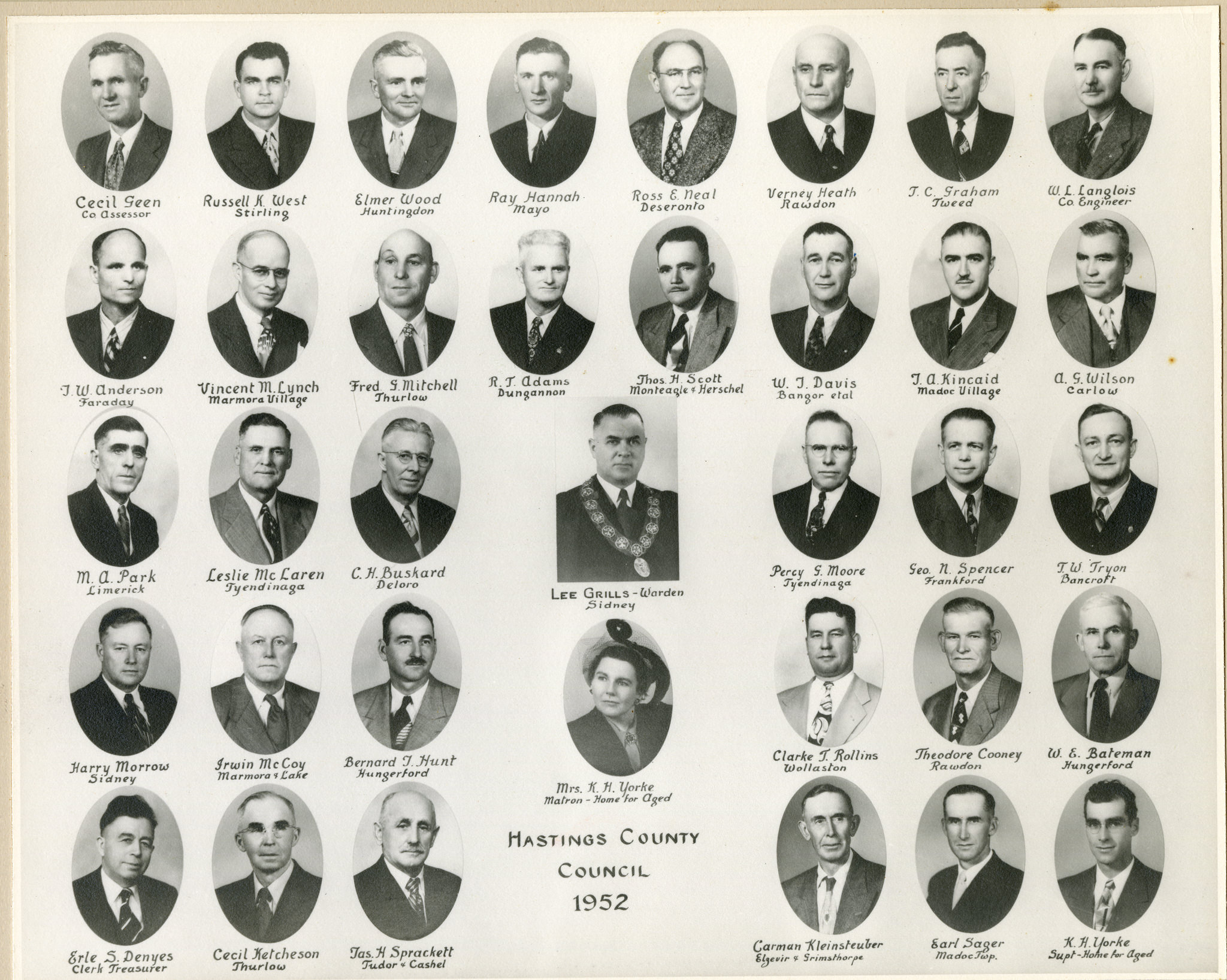1952 County Council