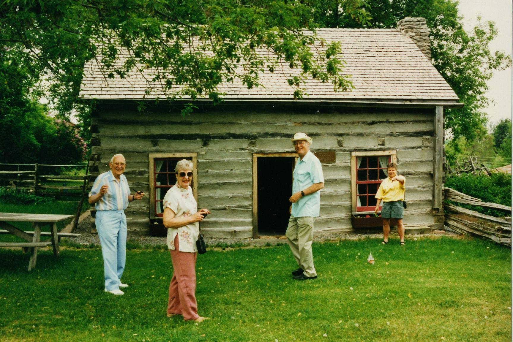 John Lea, Judy Martin,  Ralph Martin,  Cathie Jones at Ameliasburgh Museum.jpg