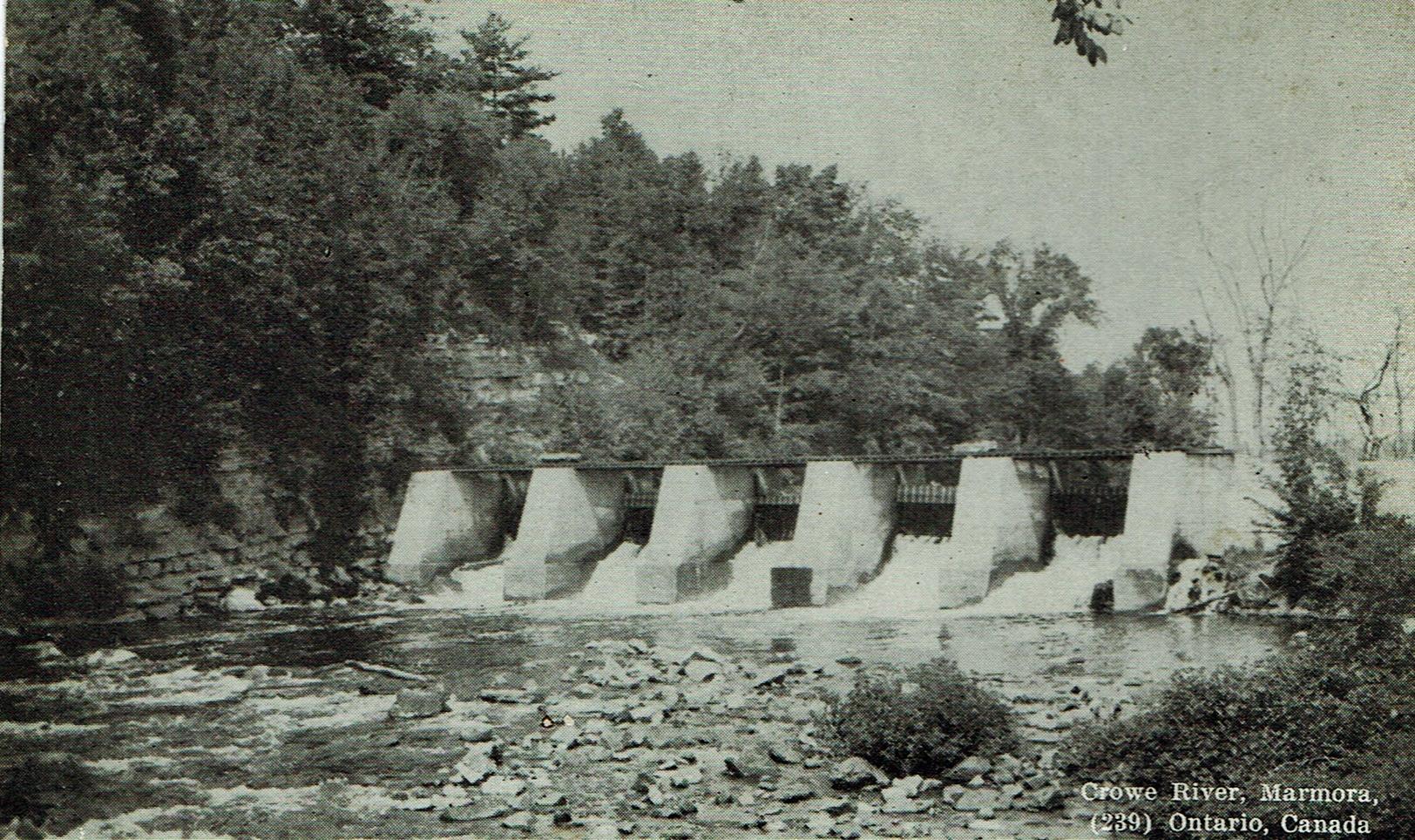 Crowe River dam.jpg