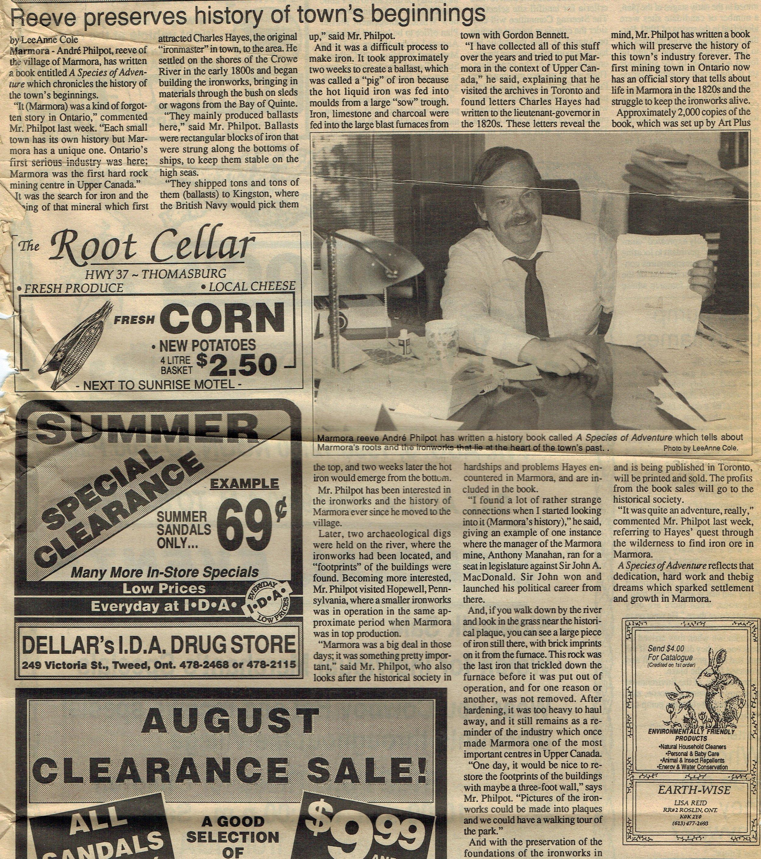 1990 Jul 31 Species of Adventure - Philpot Community Press.jpg
