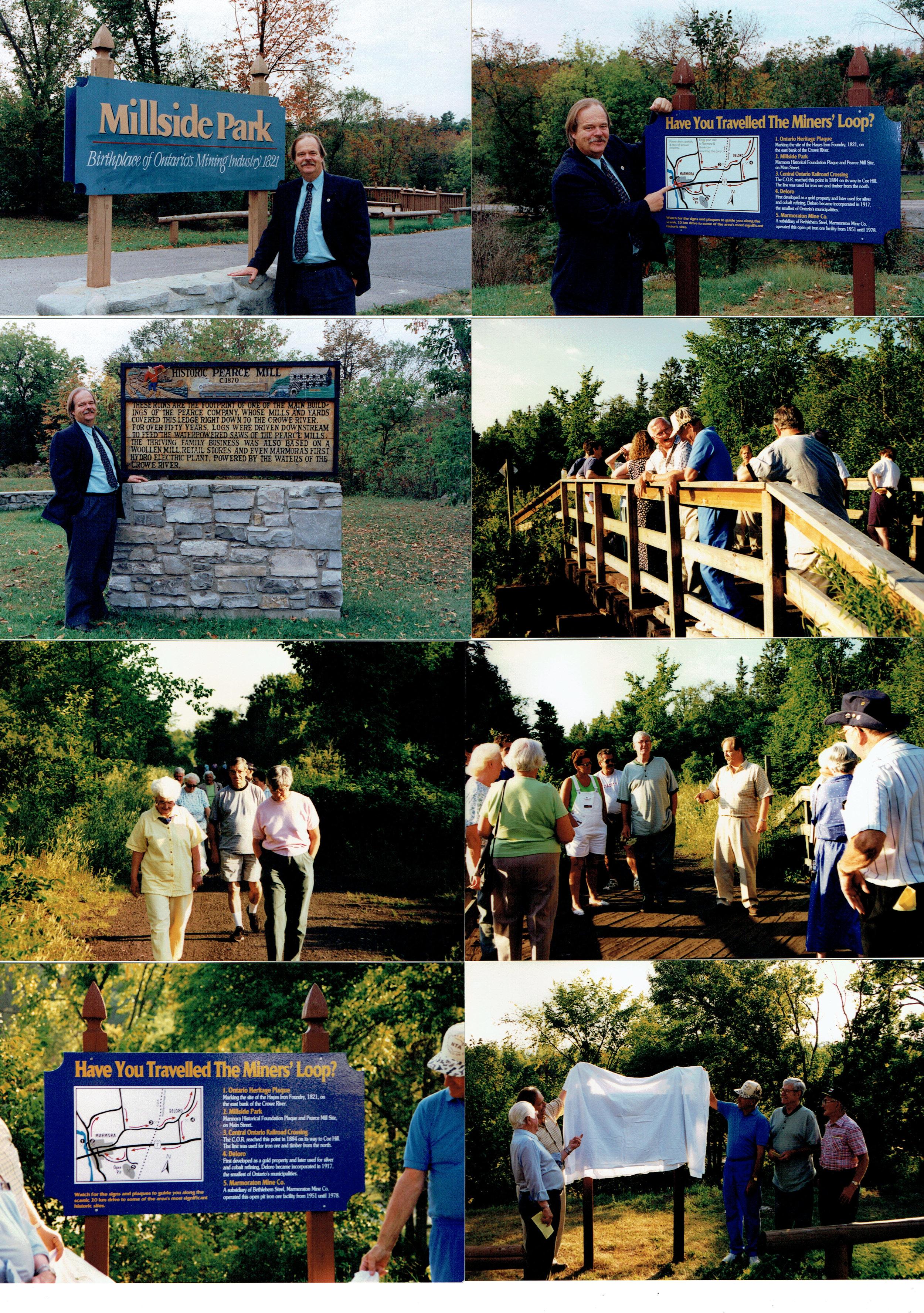 1998 Opening of Miners' Loop.jpg