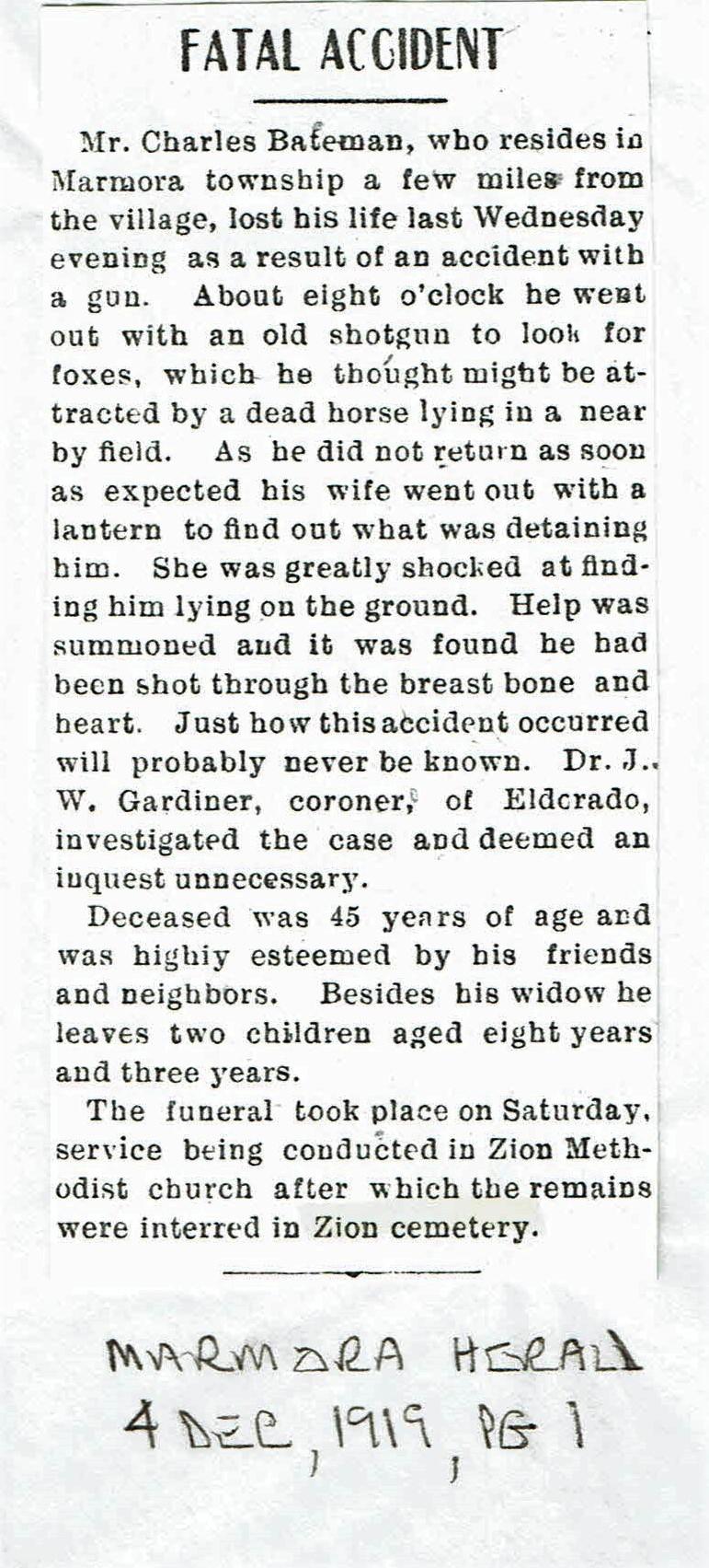 Bateman, Charles Gun Accident 1919.jpg